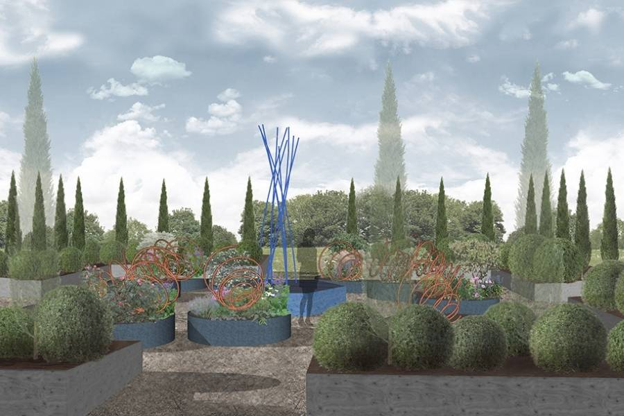 garden design progetto Where the plants tell the tales